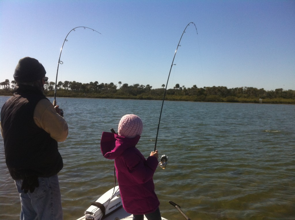double hookup redfish
