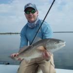 mosquito lagoon redfish on fly