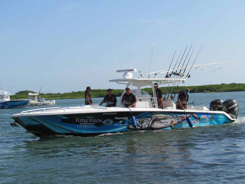 Team total vision docking new smyrna beach charter for New smyrna fishing charters